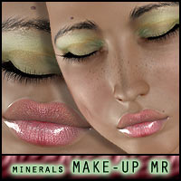 Just Minerals: Makeup resource for V4 2D ForbiddenWhispers
