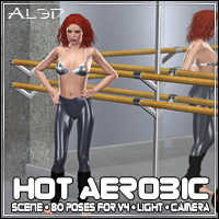 Hot Aerobic 3D Models 3D Figure Essentials Software _Al3d_