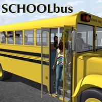 School bus Themed Transportation Props/Scenes/Architecture Poses/Expressions greenpots