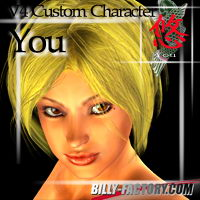 V4 You Custom Characters Hair billy-t