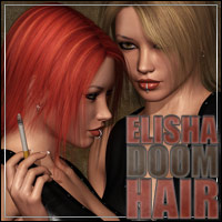 Elisha Doom Hair 3D Figure Essentials outoftouch