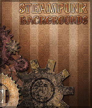 Steampunk Backgrounds 2D Graphics Sveva