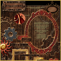 Steampunk Backgrounds image 3