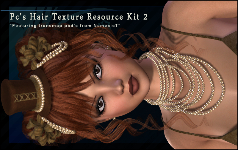Pc's Hair Resource Texture Kit Set 2