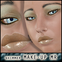 Shimmer makeup resource for V4 2D ForbiddenWhispers