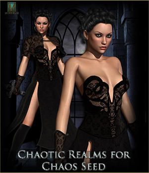 Chaotic Realms for Chaos Seed 3D Figure Essentials Mihrelle