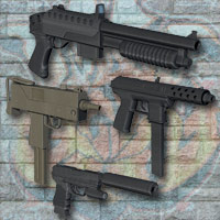 Urban Assault Weapons 3D Models Richabri