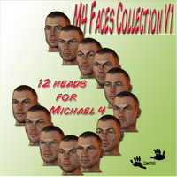 M4 Faces Collection V1  zachary