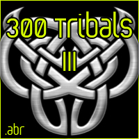 300 Tattoo - Tribal Brushes III 2D Graphics moshgrafix
