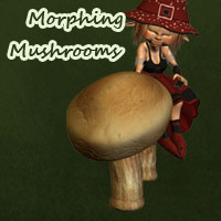 Morphing Mushrooms 3D Models anny