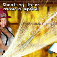 Shooting Water Brushes  Themed 2D And/Or Merchant Resources mystikel