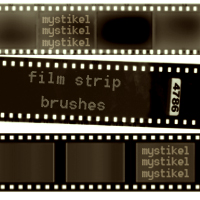 Film Strip Brushes Themed 2D And/Or Merchant Resources mystikel