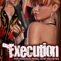 Execution for Assassin Angel Victoria 4 Clothing ShanasSoulmate