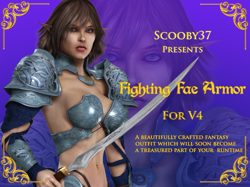 Fighting Fae Armor for V4