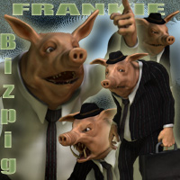 Frankie Bizpig 3D Figure Essentials Nursoda