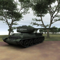 T-34 85 for Vue Props/Scenes/Architecture Themed Lord_Garland