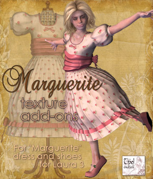 Marguerite Texture Add-ons 3D Figure Assets Tipol