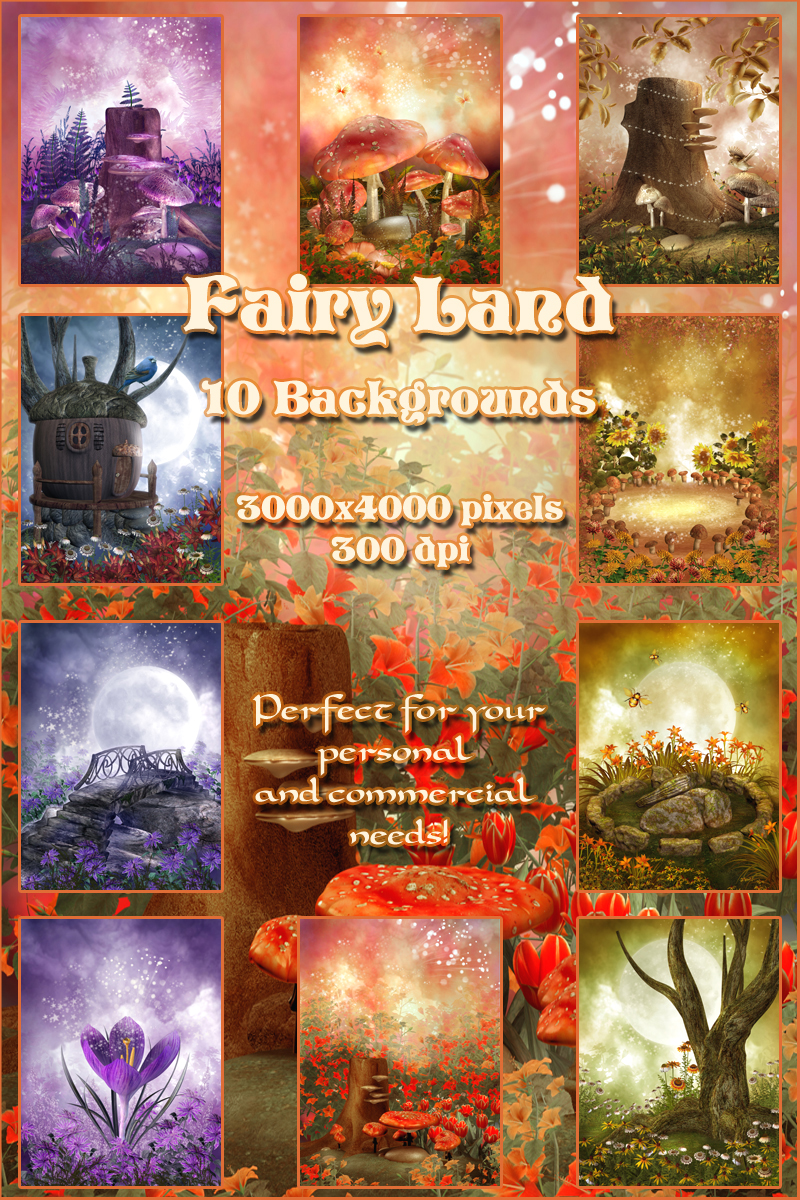 Fairy Land Backgrounds