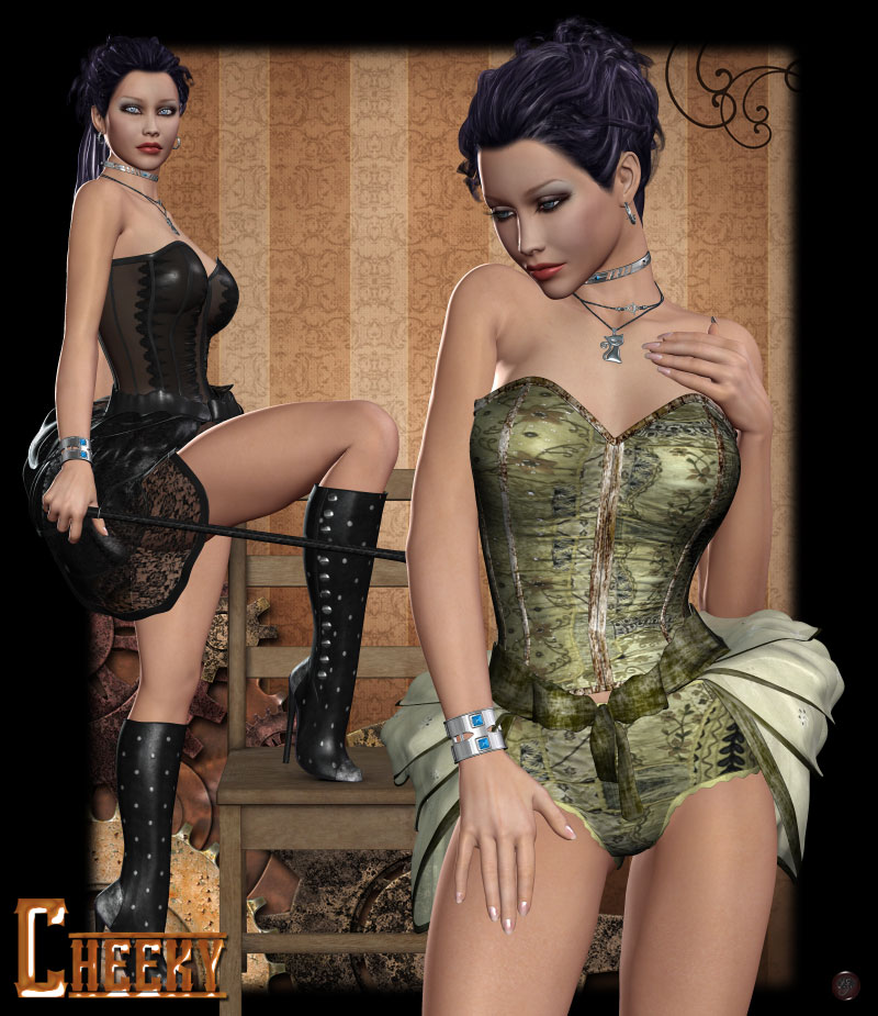 Cheeky for Steampunk Saloon Bundle