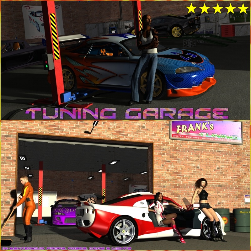 Tuning Garage by 3-D-C