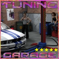 Tuning Garage by 3-D-C 3D Models 3D Figure Assets 3-d-c