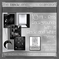 The Black and White Collection 2D And/Or Merchant Resources Themed Bez
