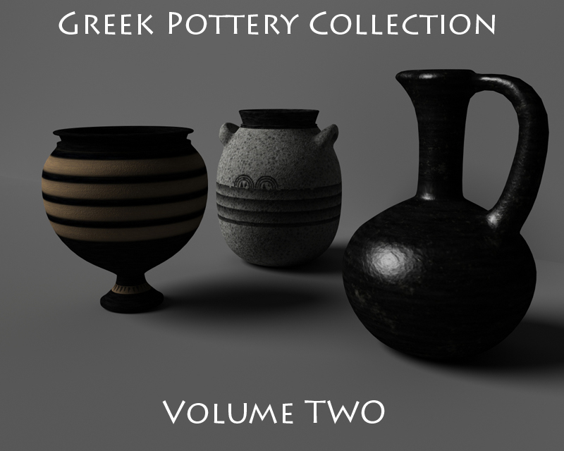 Greek Pottery Collection Volume 2