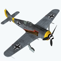 FW190 A Seies for Poser 3D Models Touchwood