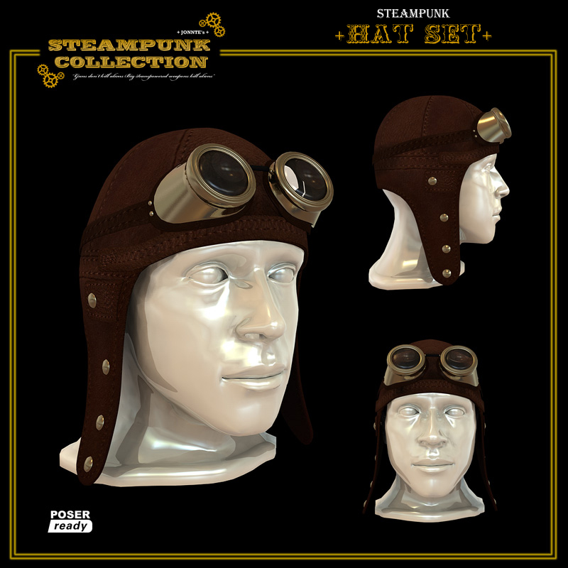 SteamPunk - Hat Set