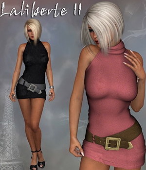Laliberte II Sweater Dress V4 3D Figure Assets RPublishing