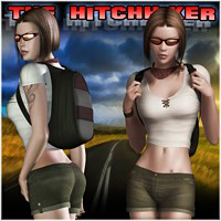 The Hitchhiker for V4/A4/G4/PBIV 3D Figure Assets mytilus