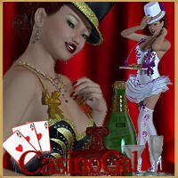 CasinoGal V4/A4/Elite/G4 3D Figure Essentials 3D Models renapd