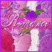 Romance Papers & Elements 2D Graphics Sveva
