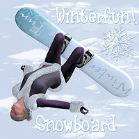 Winterfun for V4 - The Snowboard 3D Models 3D Figure Essentials Software Digital-Lion