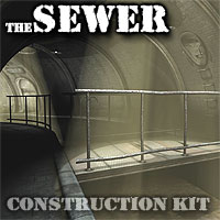 TheSewer Construction Kit 3D Models coflek-gnorg