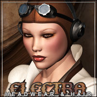 ELECTRA Headwear for V4/A4/G4 3D Figure Essentials 3D Models outoftouch