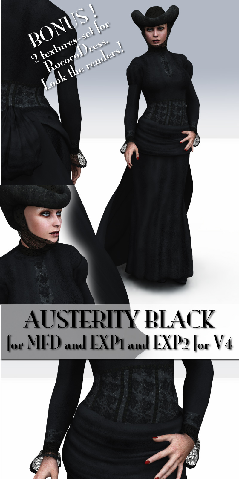 Austerity Black for MFD