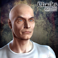 Charles for M4 3D Figure Essentials henrika_amanda