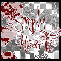 Simply Hearts Themed 2D And/Or Merchant Resources Lzy724