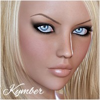 Kymber 3D Figure Essentials Silver