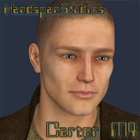 Carter for M4 Clothing Characters Poses/Expressions HandspanStudios