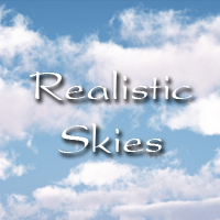 30 MORE Sky Backgrounds image 1