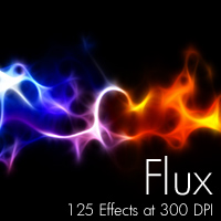 Flux 3D Models 2D Graphics designfera