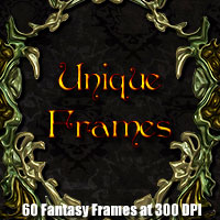 Unique Frames 2D And/Or Merchant Resources Themed designfera