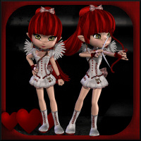 Cupid For Cookie 3D Models 3D Figure Assets Propschick