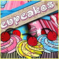 Sweets & Treats Collection: Cupcakes 2D Graphics Merchant Resources Sveva