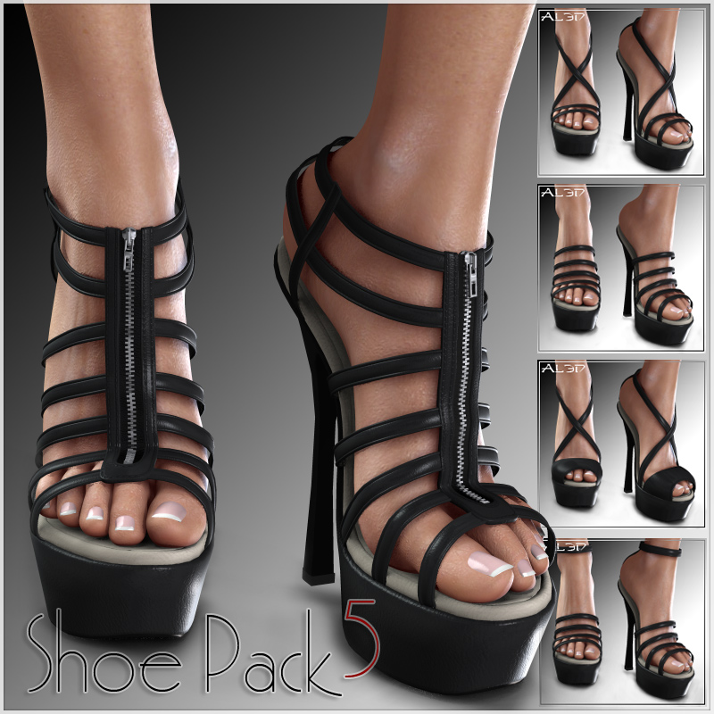 Shoe Pack5 for V4/A4