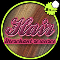 Biscuits Hair Merchant Resource 3D Figure Essentials 2D Biscuits