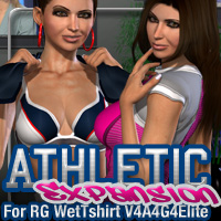 Athletic Expansion for Rg Wet Tshirt for V4A4G4Elite  fratast