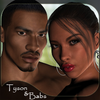 Tyson and Babs by reciecup